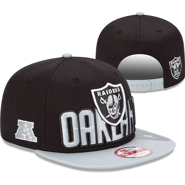 Oakland Raiders NFL Snapback Hat SD15
